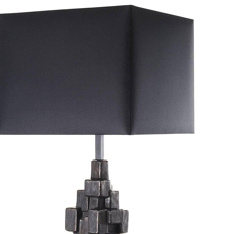 Italian Sculptural Ceramic Floor Lamp For Sale