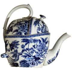 1900s S.Y.P. Simple Yet Perfect Peony Wedgwood Patent Teapot Made in England