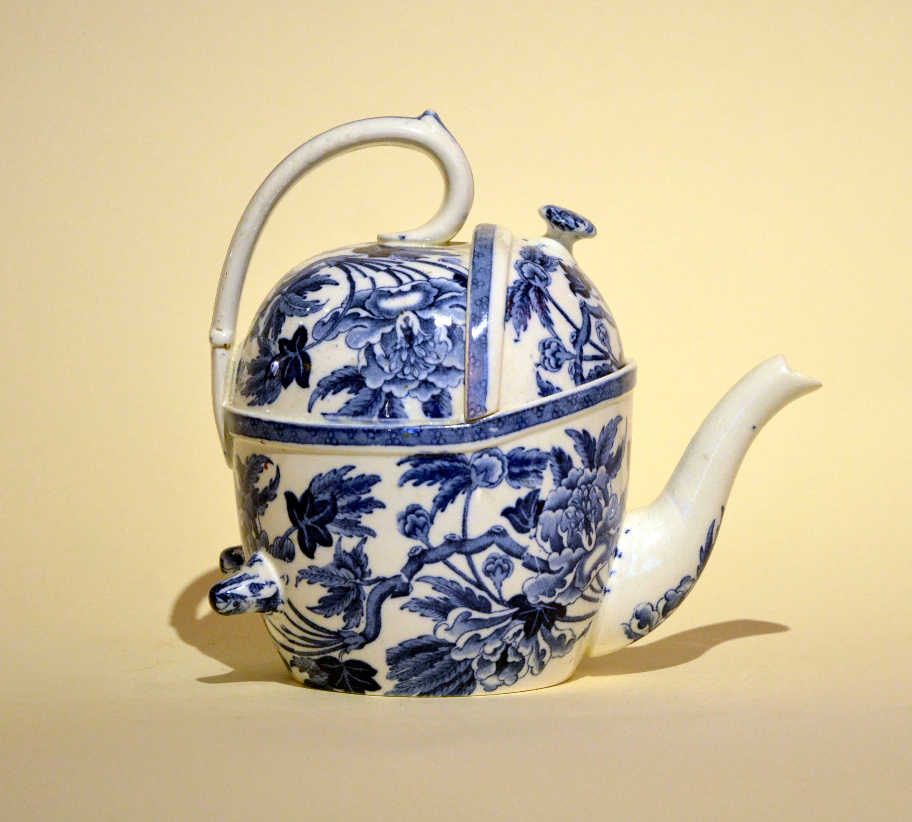 1900s S.Y.P. Simple Yet Perfect Peony Wedgwood Patent Teapot Made in ...