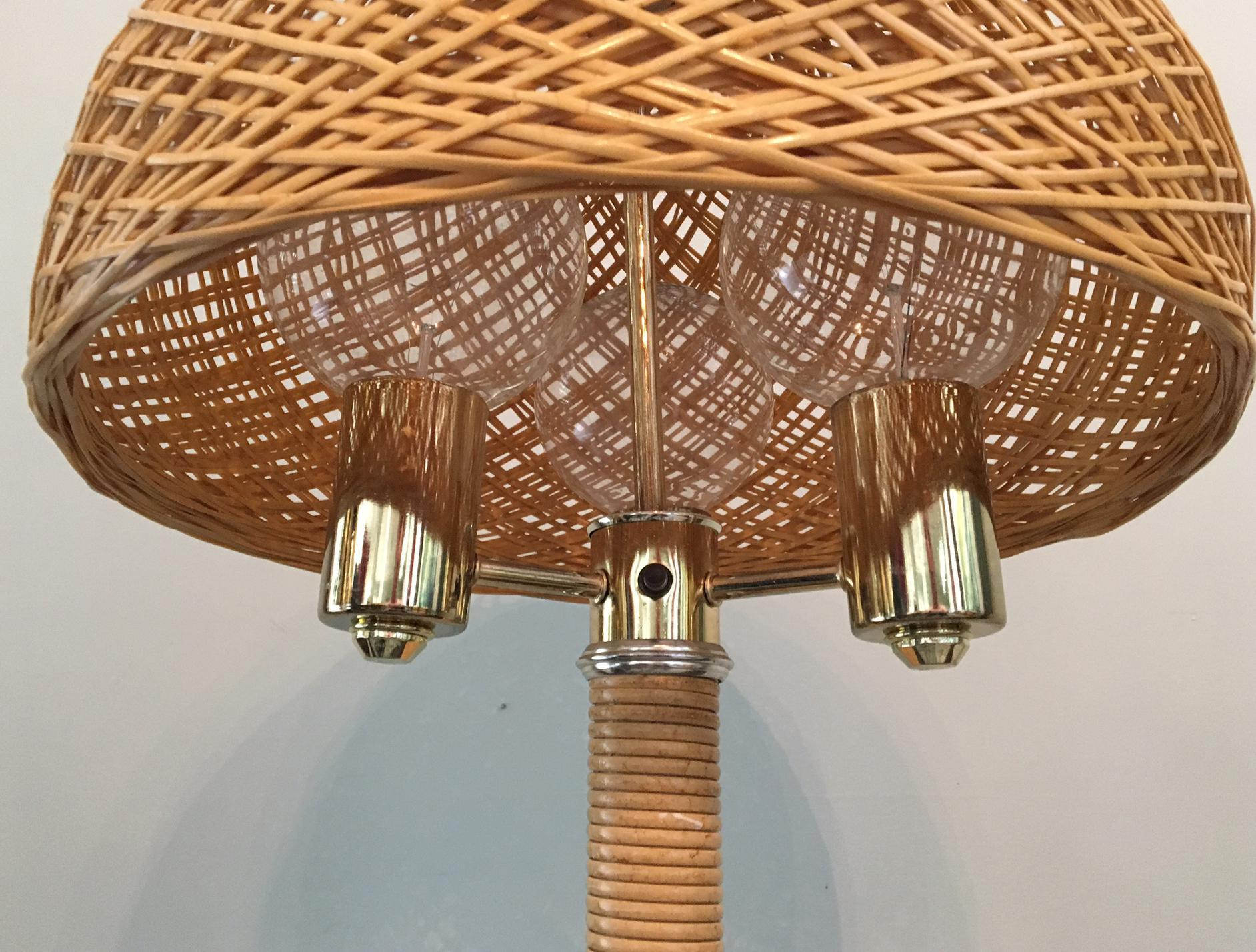pin floor bhs waisted lamps wicker pinterest rattan lamp items