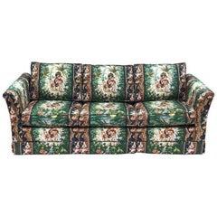 Moroccan Tropical Theme Elephant Sleeper Sofa