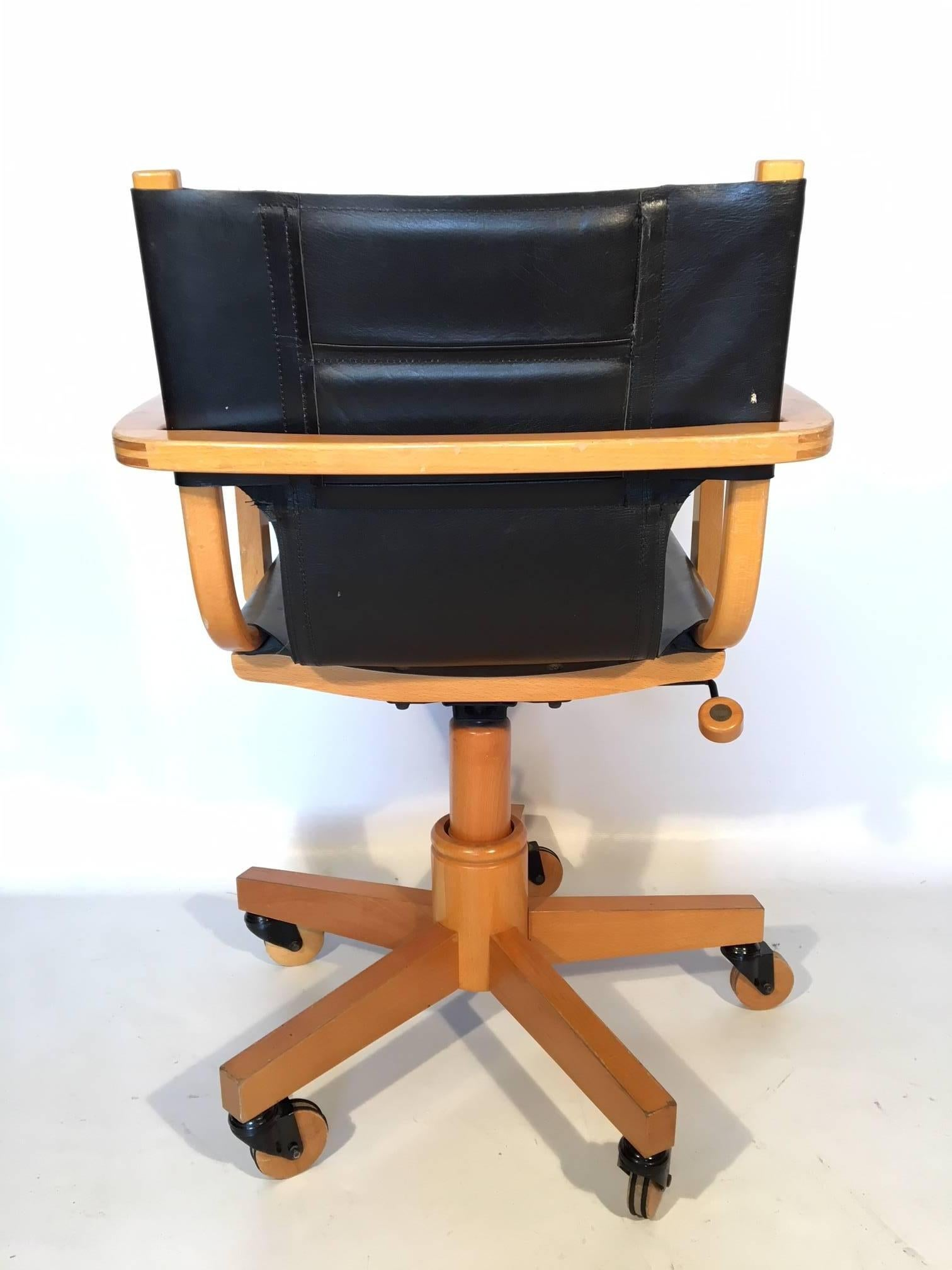 Mid Century Modern Asher Benjamin Studio Midcentury Desk Chair For Sale