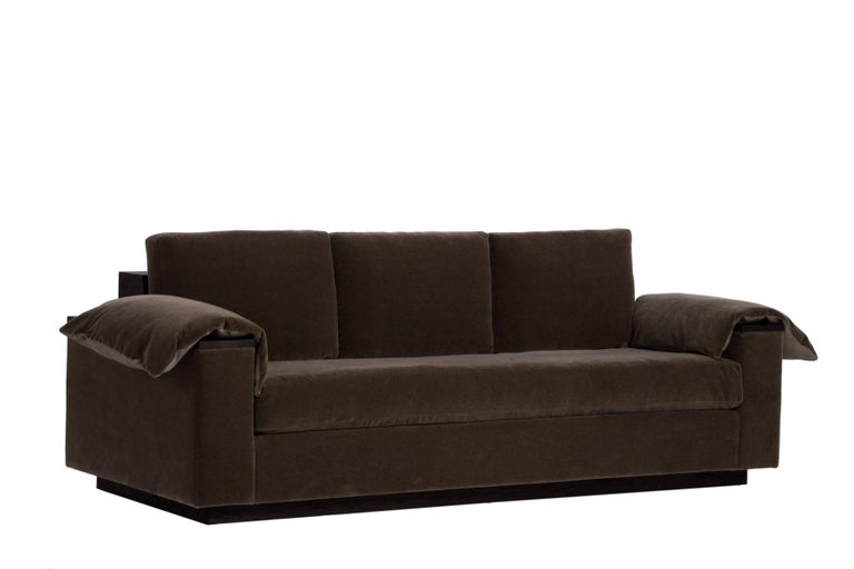 Bolton Sofa in Mohair In New Condition For Sale In Carmel, CA