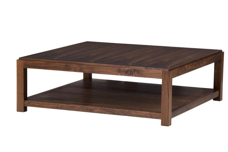 Modern Landon Coffee Table Ottoman For Sale