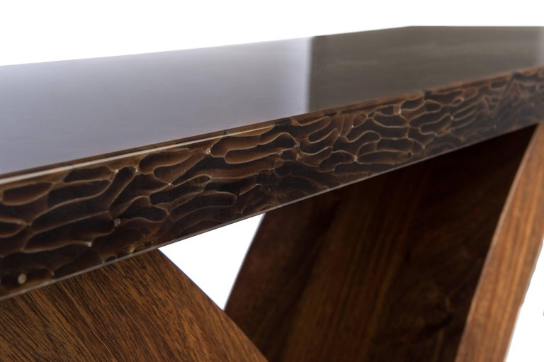 Modern Handmade Xavier Console Table For Sale