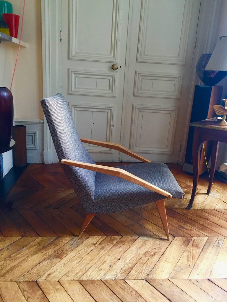 Mid-Century Modern Armchair Madame, Gio Ponti, 1955 For Sale