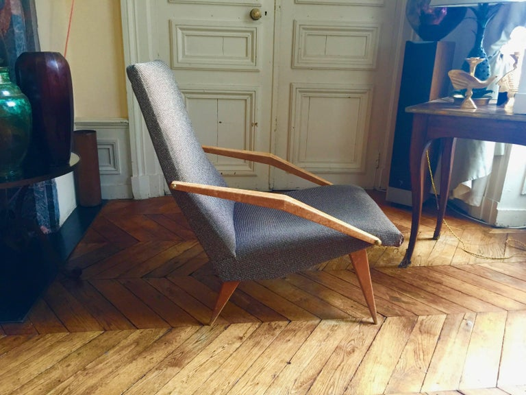 French Armchair Madame, Gio Ponti, 1955 For Sale