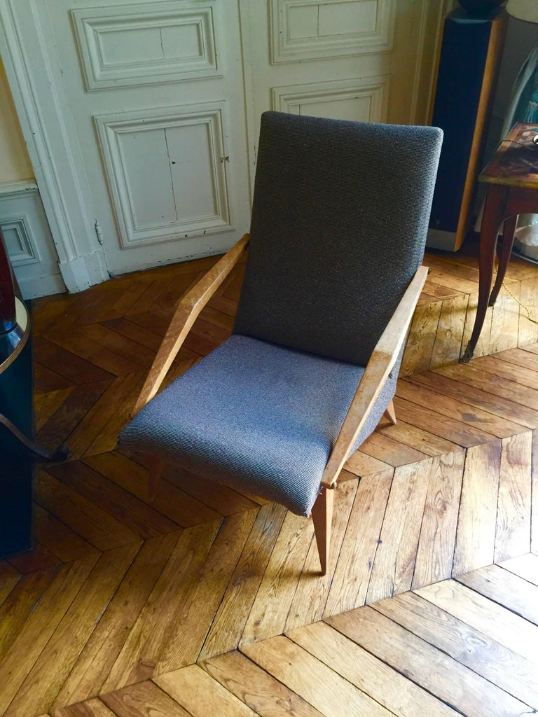 Armchair Madame, Gio Ponti, 1955 In Good Condition For Sale In Paris, FR