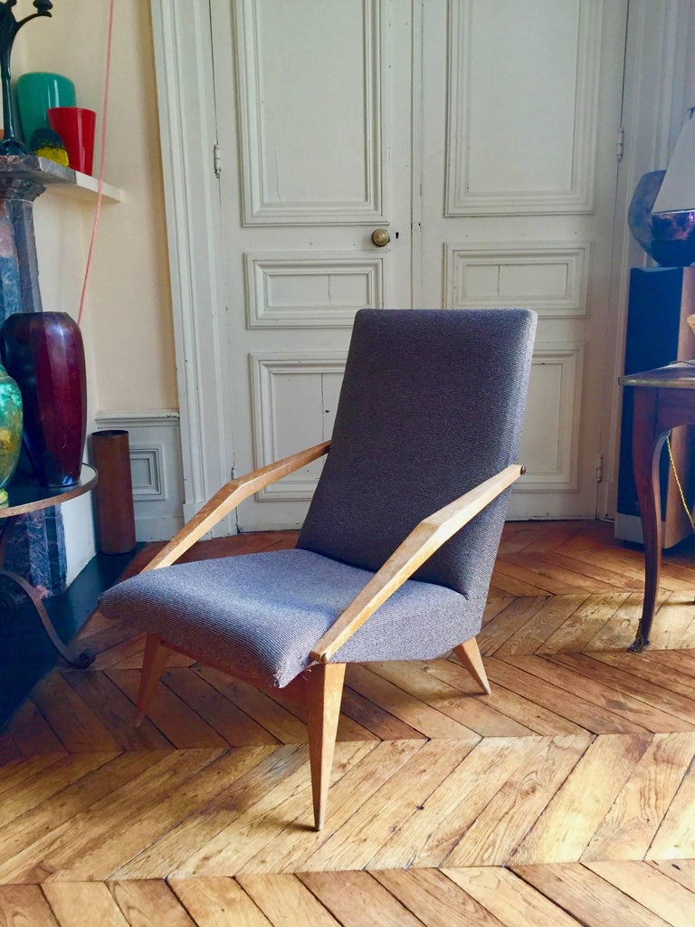 Mid-20th Century Armchair Madame, Gio Ponti, 1955 For Sale