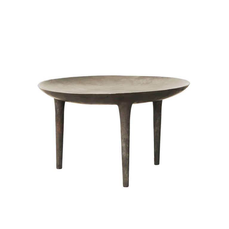 Rick Owens Occasional Table Brazier in Bronze
