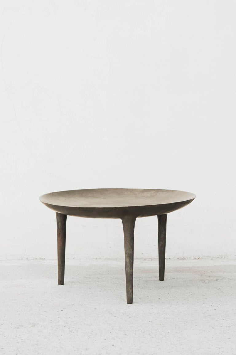 rick owens occasional table brazier in bronze at 1stdibs. Black Bedroom Furniture Sets. Home Design Ideas
