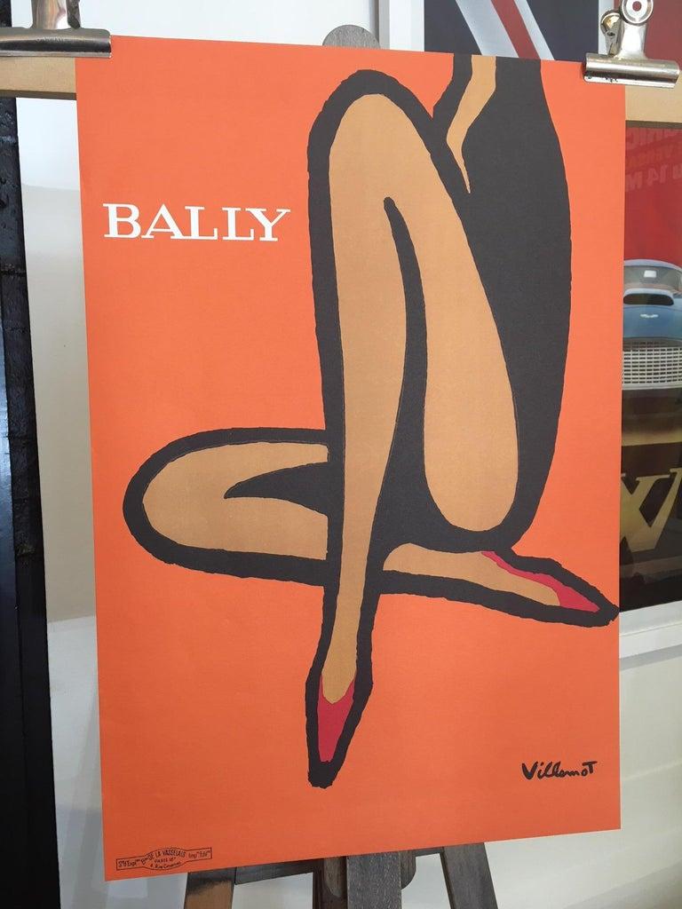 Artist  Bernard Villemot   Year  1967  Dimensions:  40 x 60cm  Condition: Good.
