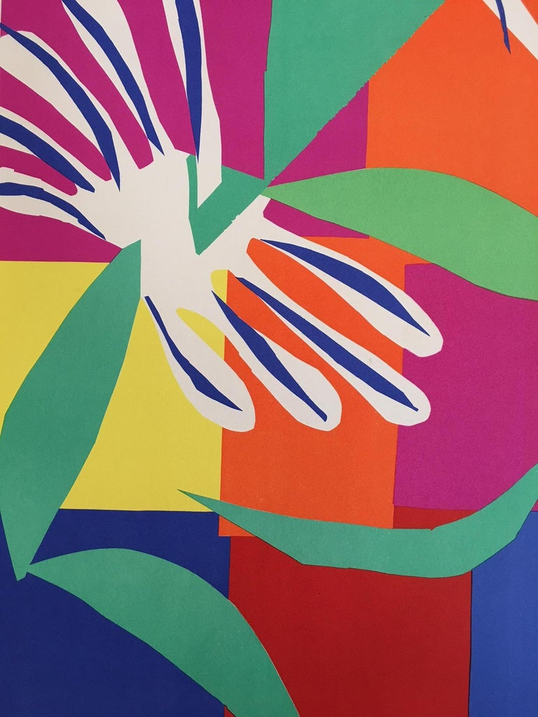 Vintage French Art & Exhibition Poster after Henri Matisse, 1960s, Nice For Sale 2