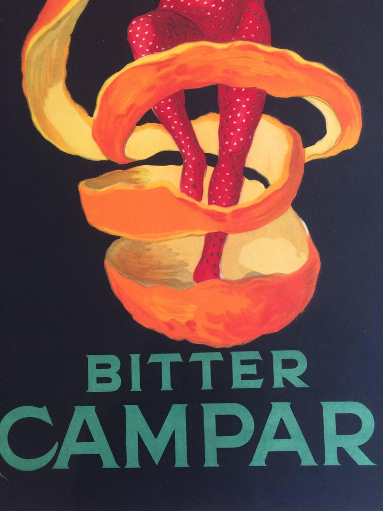 a52a6adc4af34 Art Deco Original Vintage Poster Bitter Campari Spiratello Leonetto  Cappiello