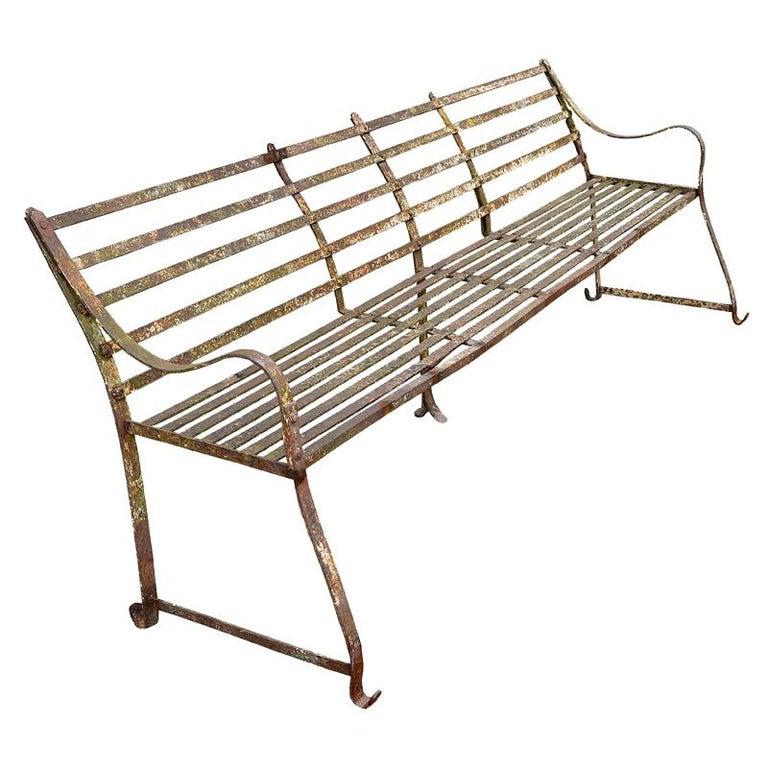 Regency Strapwork Bench