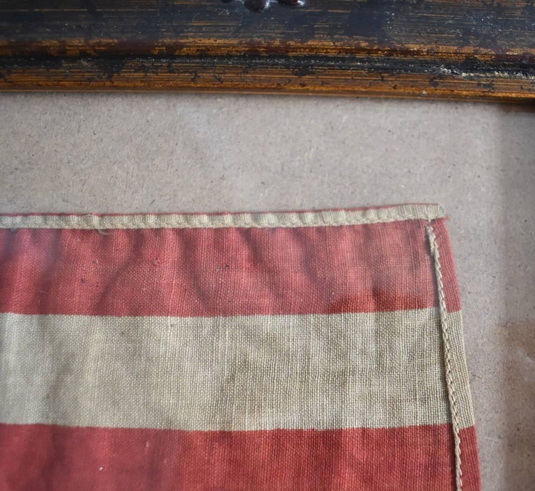 Dyed 46 Star Oklahoma Flag in Red White Blue from Oklahoma 1907 For Sale