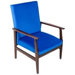 Royal Blue Vintage Armchair, B-14 Type, 1960s