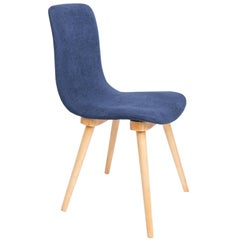 20th Century Fameg Navy Blue Vintage Chair, 1960s, Poland