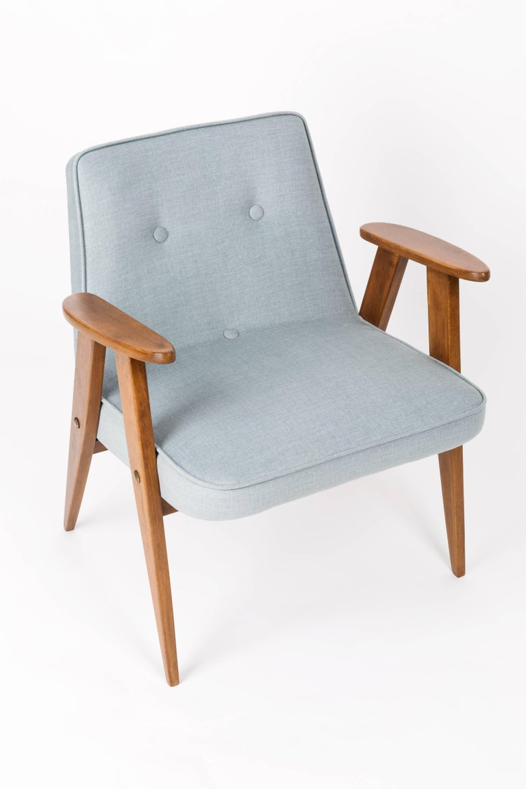 Set of Two 366 Green Armchairs, Jozef Chierowski, 1960s ...