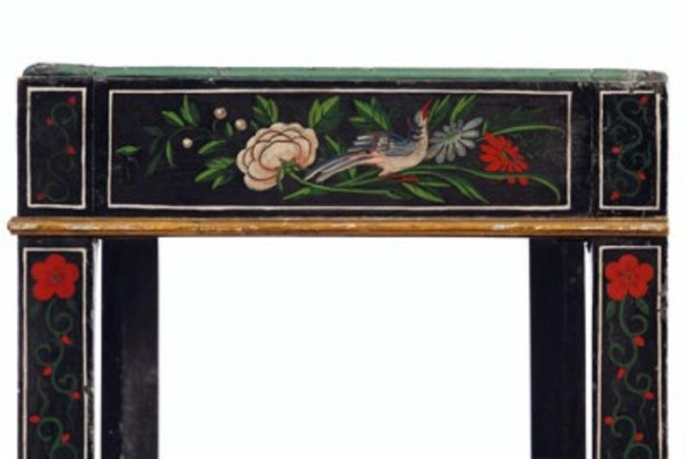 Wood 18th Century Black Lacquered Brass and Chinese Coromandel Cabinet on Stand For Sale