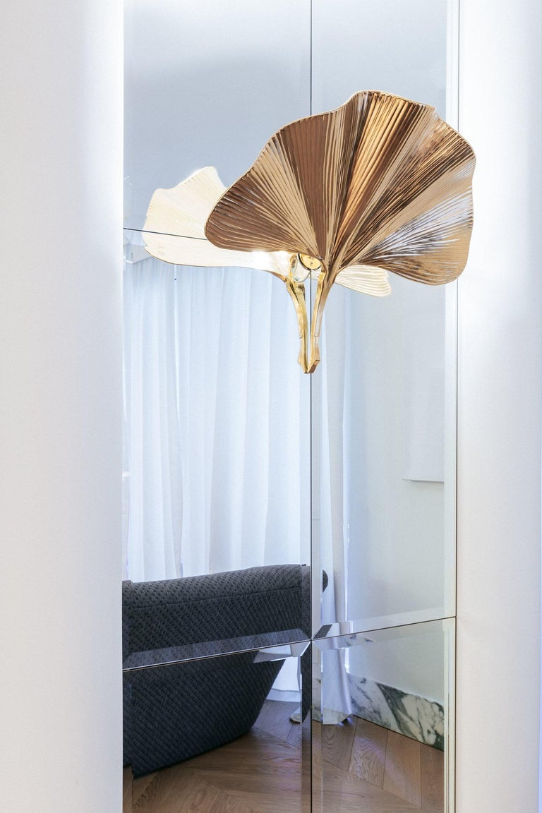 Modern Contemporary Eden Wall Lamp in Aluminium by Altreforme For Sale