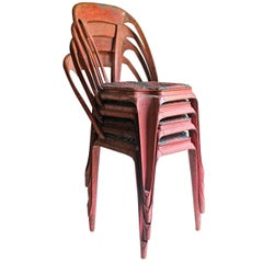 Four French Terrace or Cafe Chairs