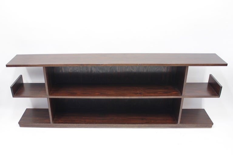Low Swedish Bookshelf, Attributed to Axel Einar Hjorth, 1930s In Good Condition For Sale In Uppsala, SE