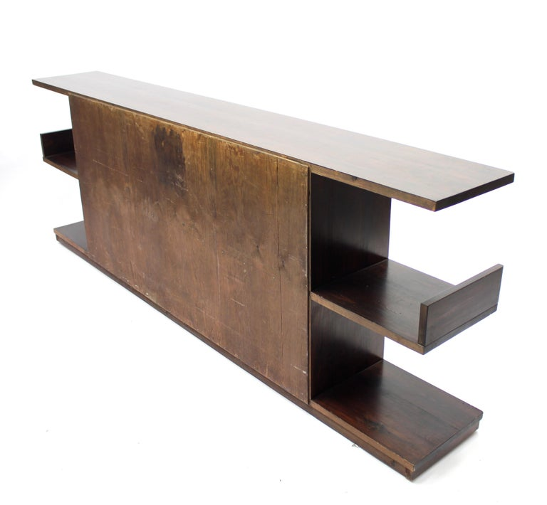 Low Swedish Bookshelf, Attributed to Axel Einar Hjorth, 1930s For Sale 2