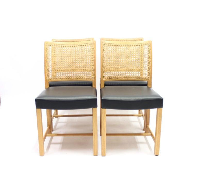 Scandinavian Modern Dining Chairs by Carl Gustaf Hiort Af Ornäs for Mikko Nupponen, 1950s, Set of 4 For Sale