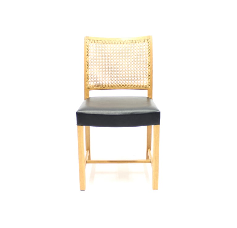 Dining Chairs by Carl Gustaf Hiort Af Ornäs for Mikko Nupponen, 1950s, Set of 4 For Sale 2