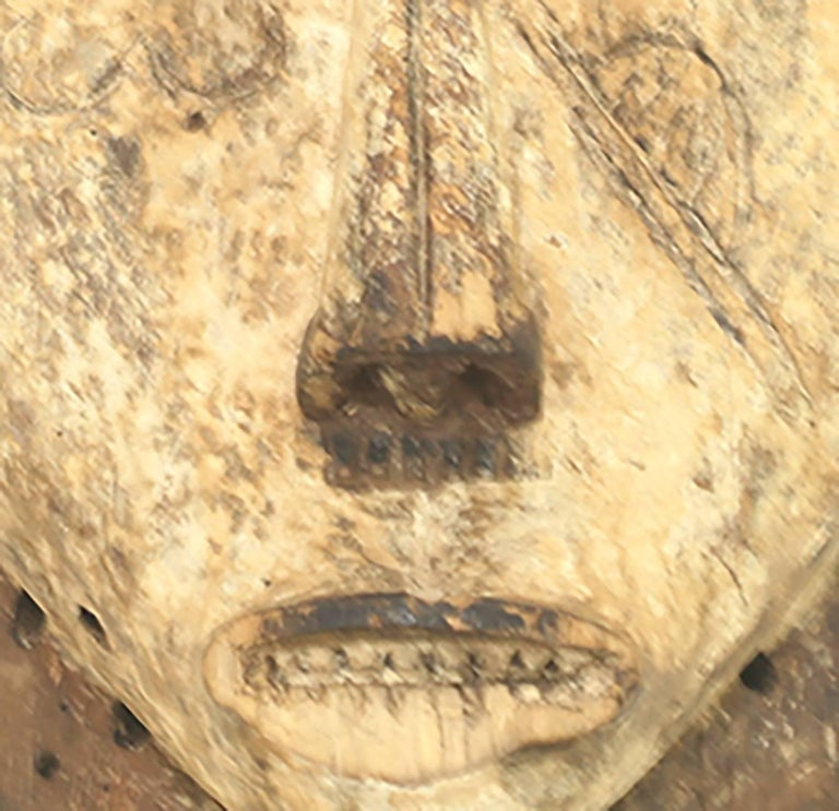Gabonese Ritual Fang Mask from Gabon, circa 1950s For Sale