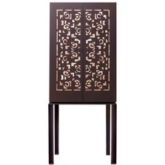Contemporary Oriental Cabinet with Mother of Pearl