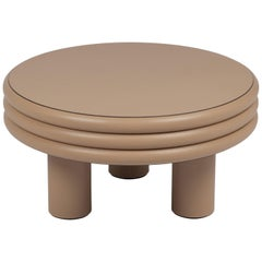 Scala Leather Coffee Table Cappuccino Nappa