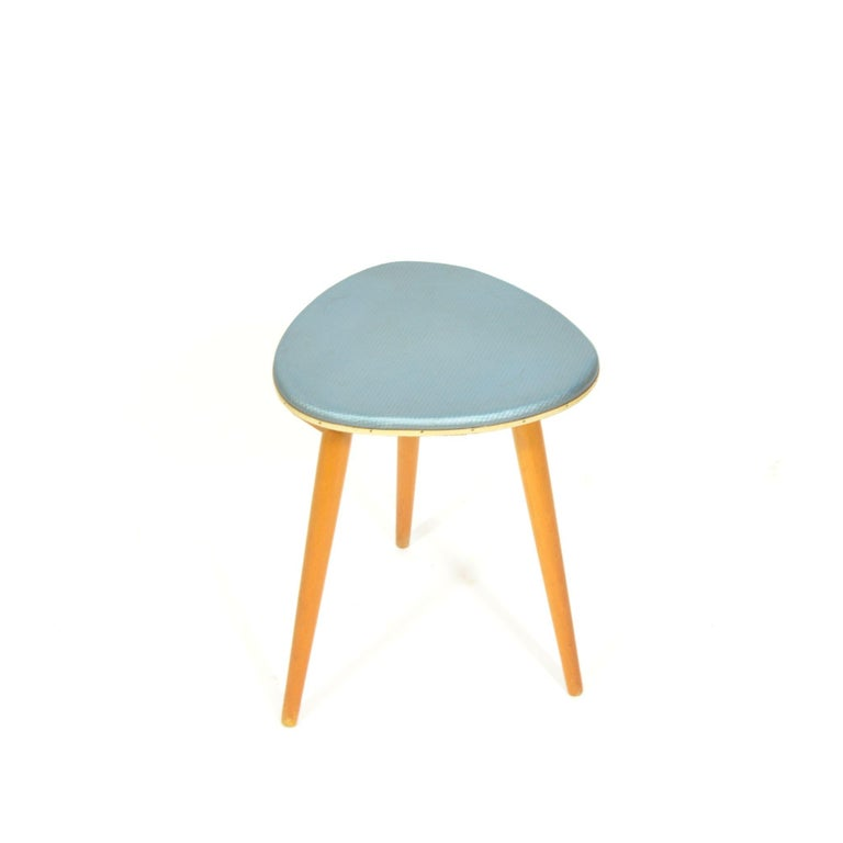 Mid-20th Century Vintage Tripod Stool from 1960s For Sale