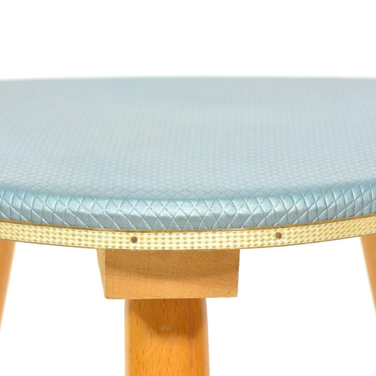 Czech Vintage Tripod Stool from 1960s For Sale