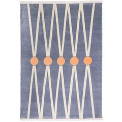 """Balance"" Hand-Knotted Wool Rug by Carpets CC"