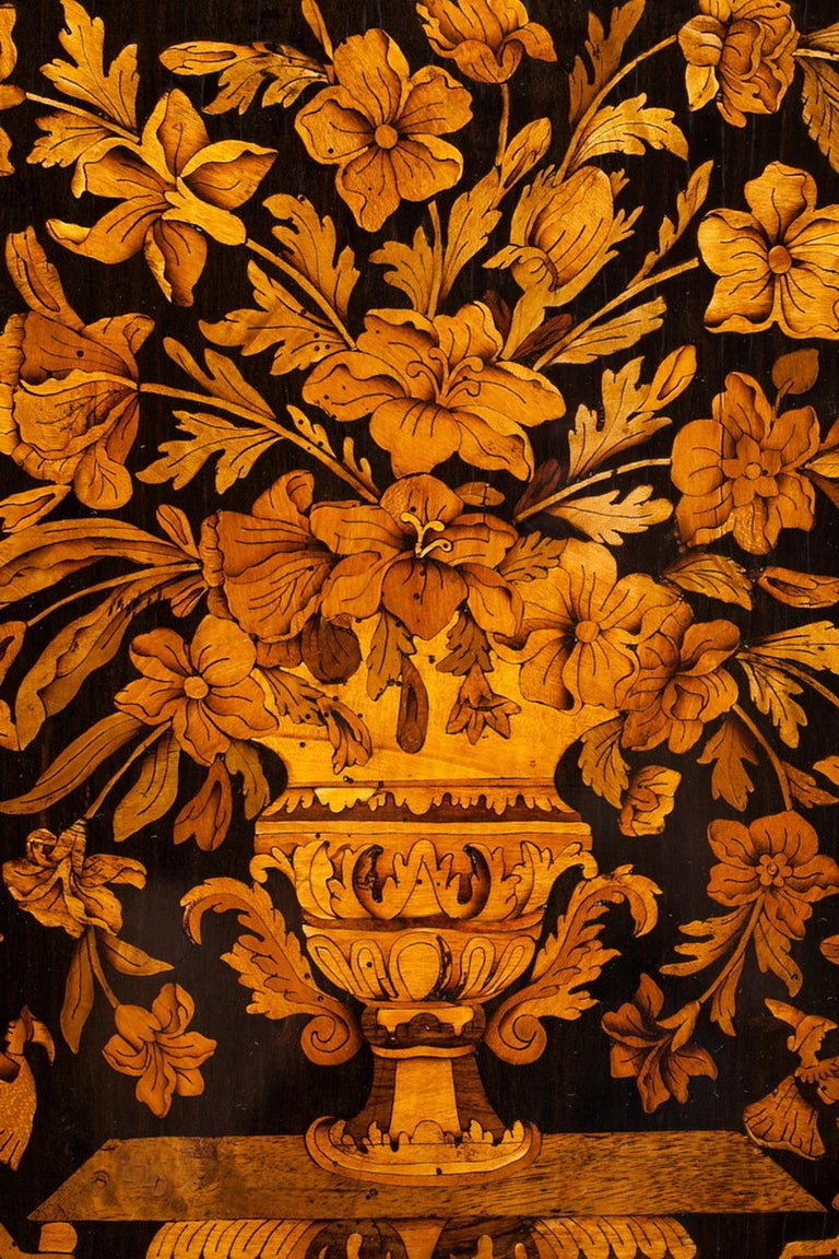 Marquetry Cabinet, Attributed to P. Sormani, France, 1870 For Sale 6