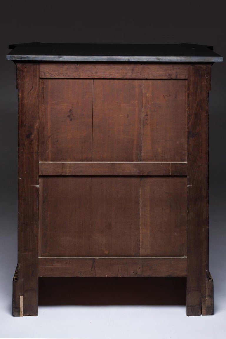 Marquetry Cabinet, Attributed to P. Sormani, France, 1870 For Sale 7