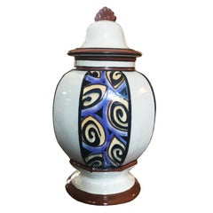 French Art Deco Vase, 1930s