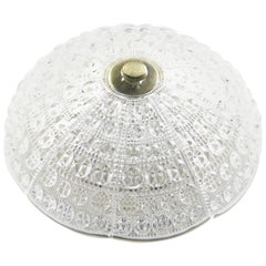 Orrefors Dome Flush Mount, Sweden, 1960