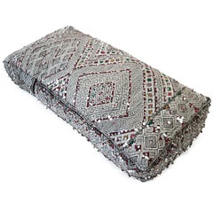 Moroccan Ottoman  Kilim Pouf  Floor Cushion  Floor Pillow from Morocco
