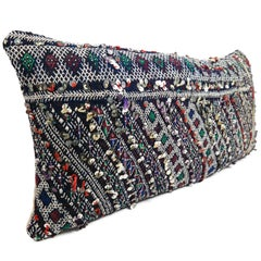Moroccan Chic Kilim Pillow XL  Lumbar