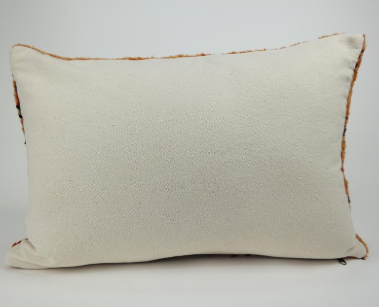 Moroccan Pillow Bohemian Berber Cushion from Morocco 2 For Sale 1