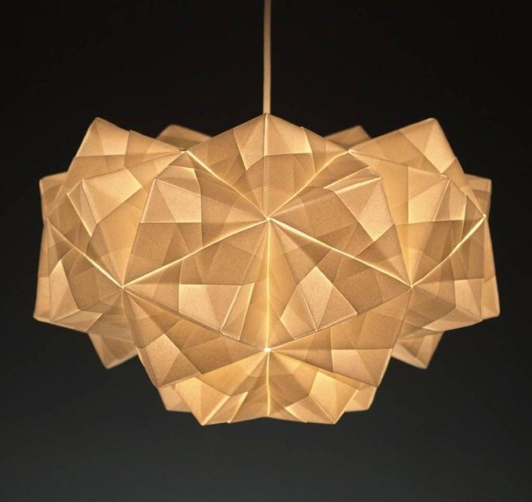 Modern Foldability, Petra Pendant For Sale