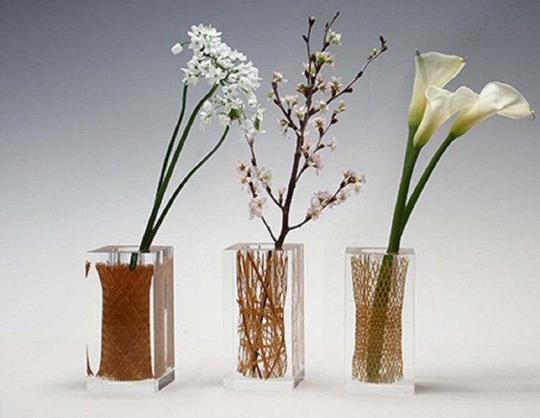 Beppu Bamboo Asanoha Flower Vases For Sale At 1stdibs
