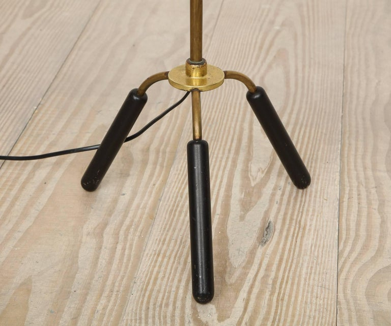 Painted Svend-Åage Holm Sorensen, Danish Adjustable Standing Lamp For Sale