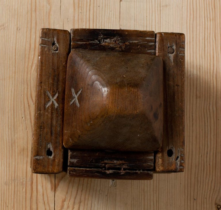 Wood 18th Century Butter