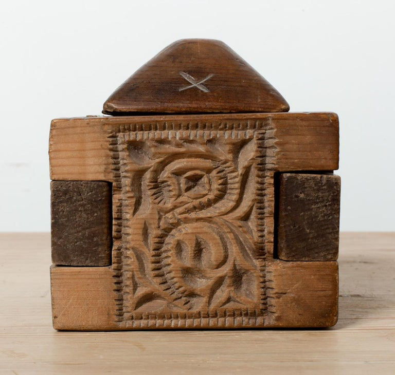 Hand-Carved 18th Century Butter