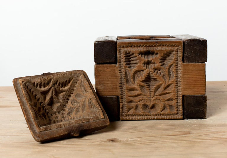 Folk Art 18th Century Butter