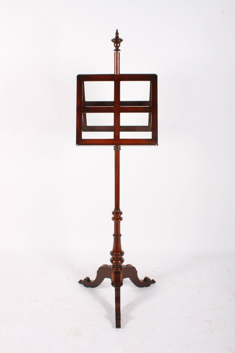 Victorian Mahogany Duet Music Stand, circa 1870 In Good Condition For Sale In Edinburgh, GB
